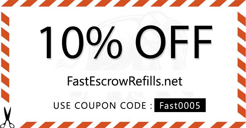 fastescrowrefills-coupon-code
